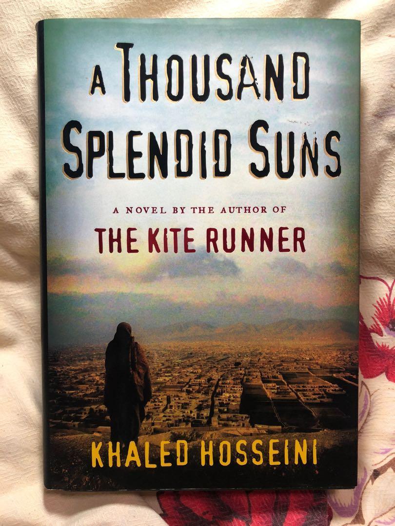 HARDBOUND - A Thousand Splendid Suns by Khaled Hosseini