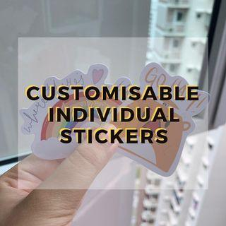 Individual Stickers