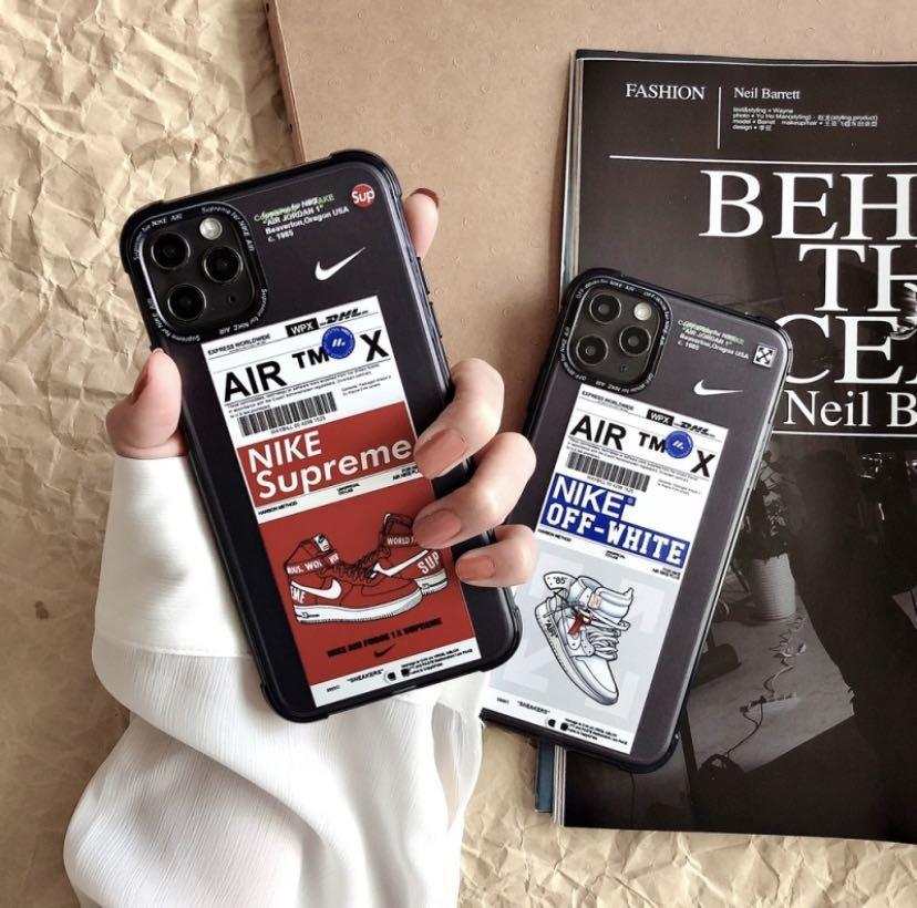 iPhone11 case ponsel untuk 7 7p 8 8p x xr xsmax 11romax NIKE bersama ponsel case 12promax