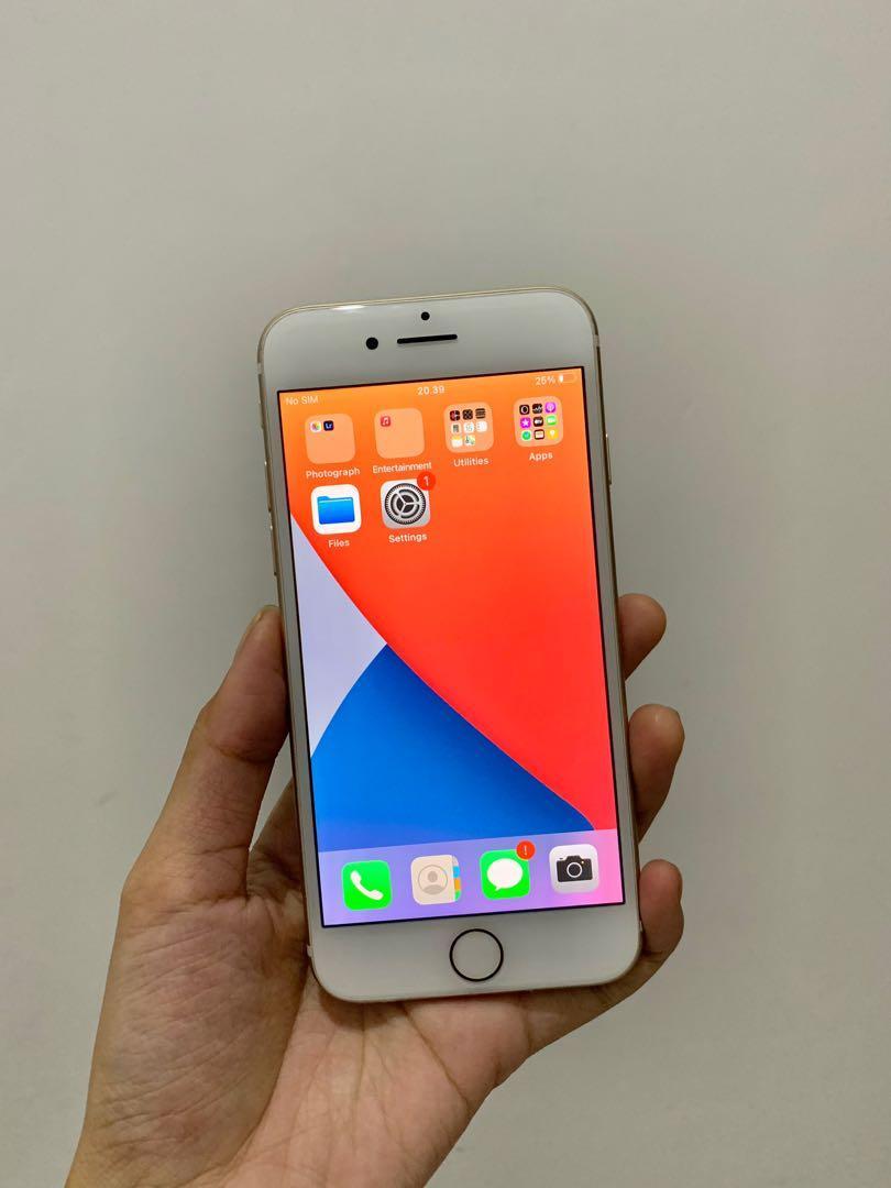 iPhone 7 32gb gold BH 100% mulus second ori
