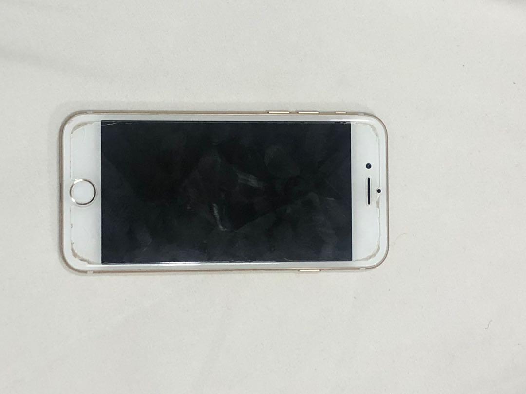 iphone 7 phone n box ONLY!!!  (BOCEL DI BAGIAN ATAS DIKIT BGTT) BURUAN DI BELII MURAH BGT