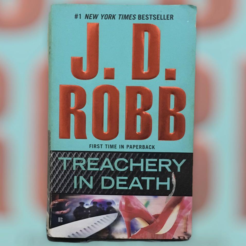 JD Robb - Treachery in Death