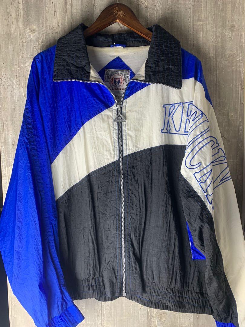 古著選物-Kentucky 肯塔基 大學吉祥物圖案風衣外套