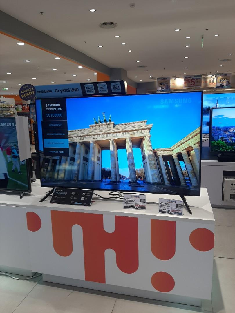 """LED TV SMART 4K SAMSUNG 50"""" KREDIT TANPA CC PAKAI KTP+ SIM"""
