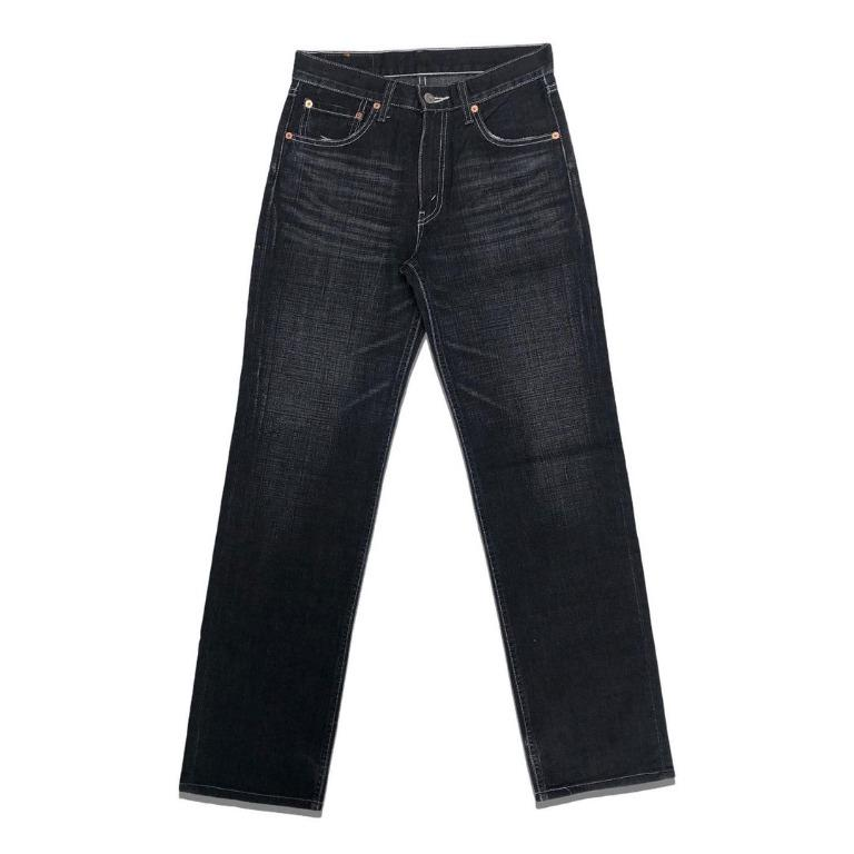Levi's Strauss 502 Regular Fit Straight Dark Gray Jeans
