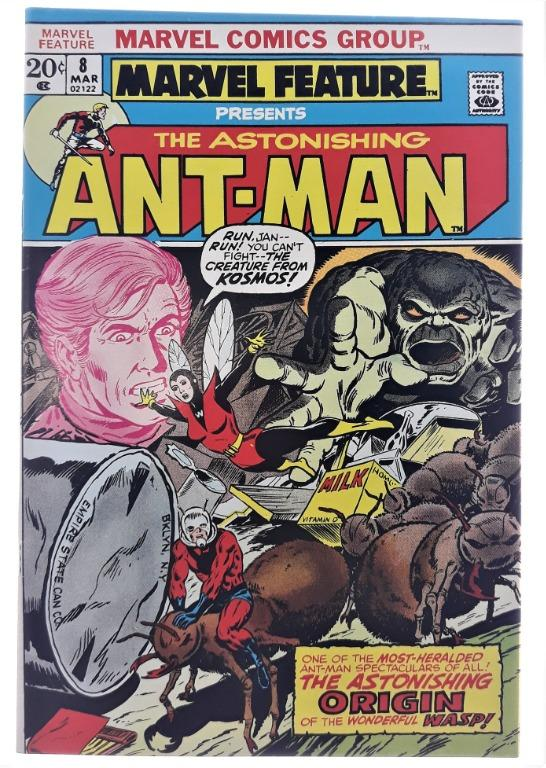 Marvel Feature Presents The Astonishing Ant-Man 8 (Origin Ant-Man And Wasp) 7.5