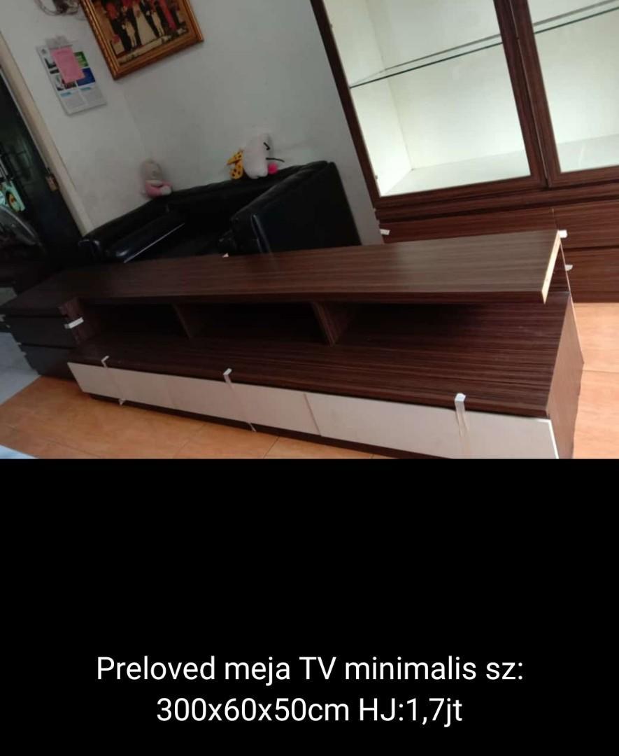 Meja tv ukuran 3 meter