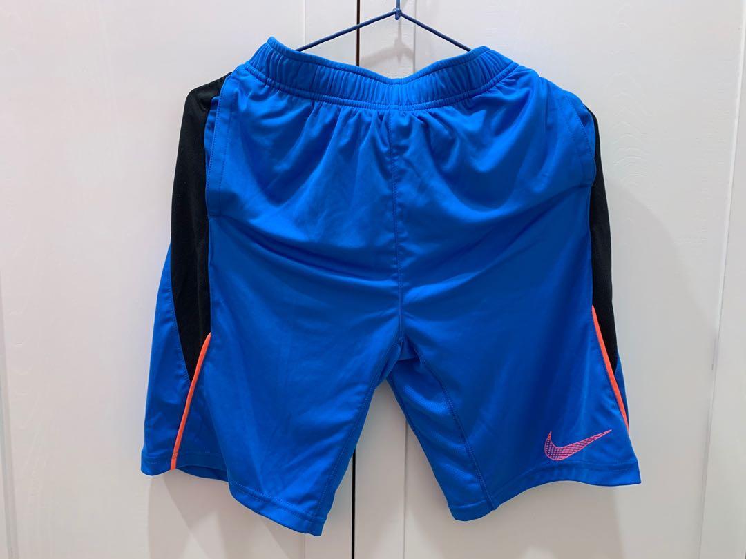 Nike 藍色透氣籃球褲
