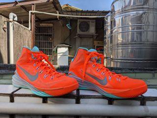 NIKE HYPERDUNK 2014 橘綠籃球鞋