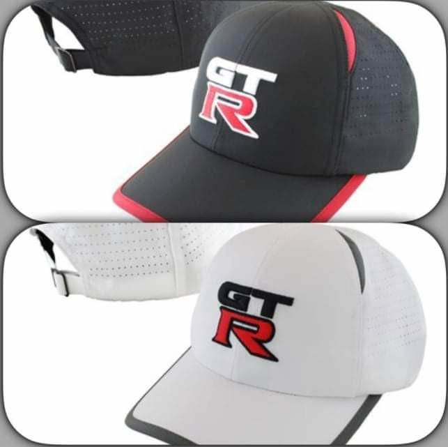 NISSAN 原廠 GTR 戰神帽   全新 兩款可選  限量 1黑1白