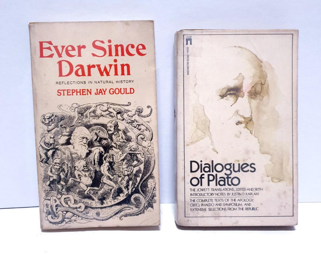 Philosophy Books Plato and Darwin