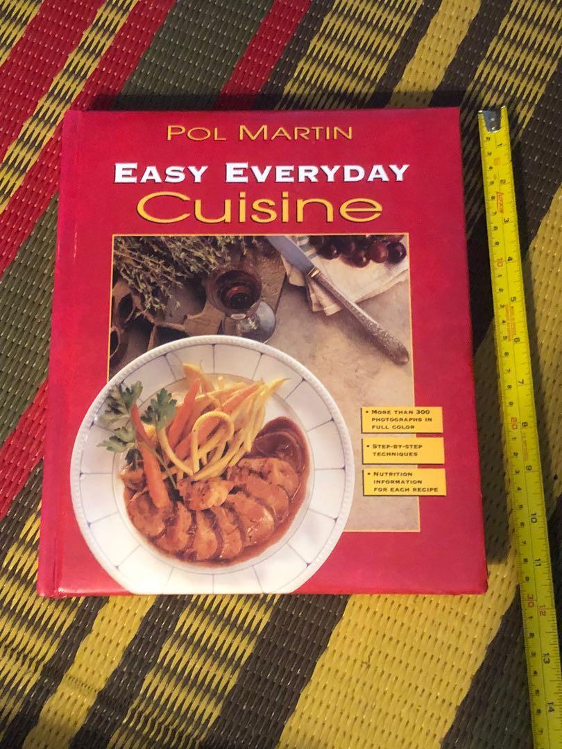 Pol Martin Easy Everyday Cuisine cookbook