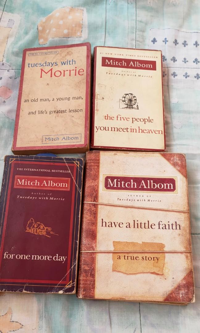 Pre-loved Mitch Albom Book Collection