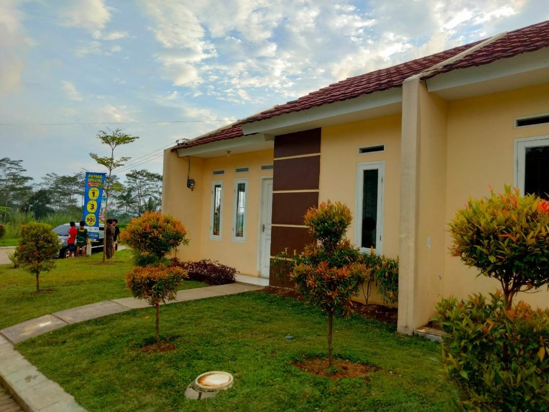 Rumah baru asri minimalis stratetigis
