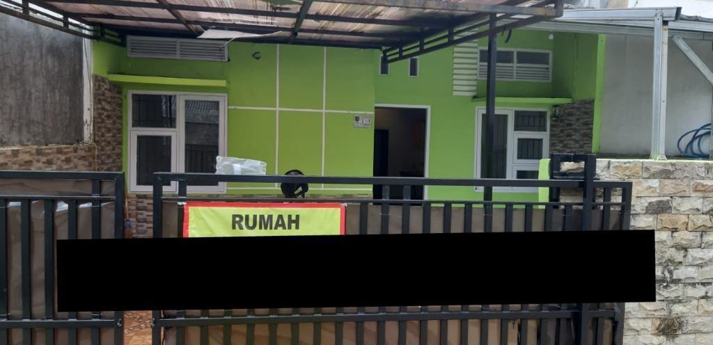 Rumah bebas banjir, one gate system, di Perumahan Sawangan Permai, Depok