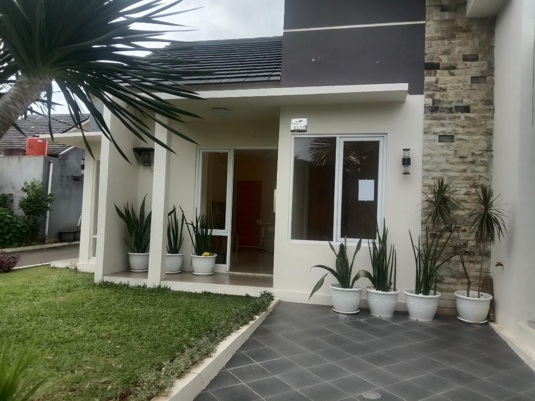 Rumah hook siap huni cicilan ringan  free biaya biaya exit tol Cimanggis