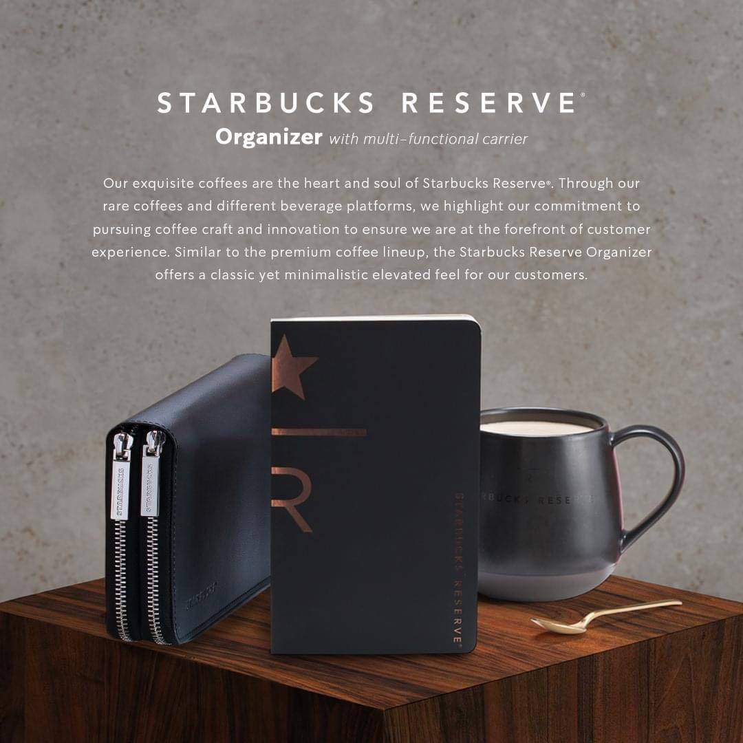 STARBUCKS 2021 Reserve Organizer (boxed and sealed)