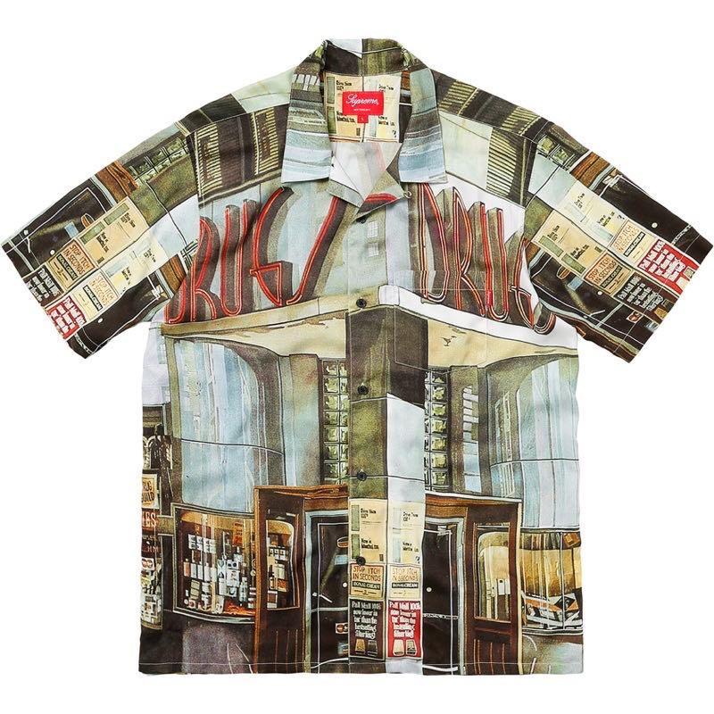 Supreme drugs rayon shirt 夏威夷襯衫
