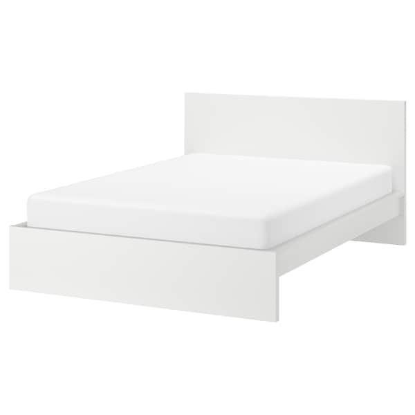 Reserved Ikea Malm White Queen Bed, Ikea Queen Bed Base With Storage