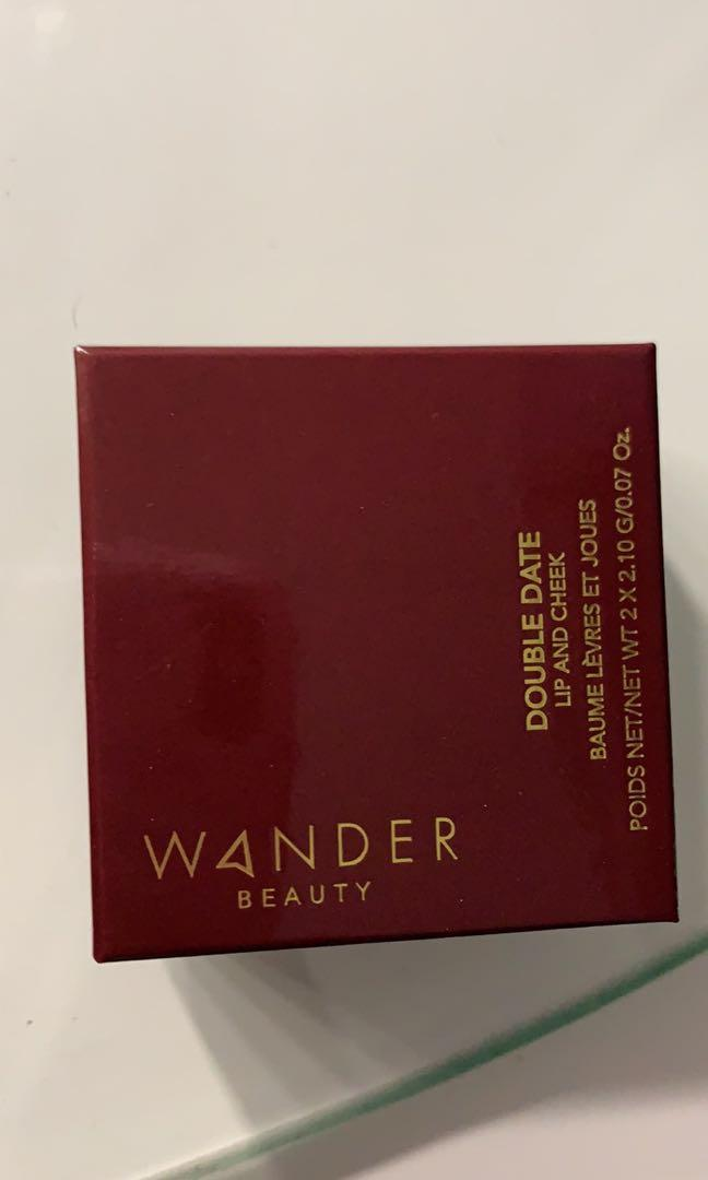 Wander Beauty double date lip and cheek stain