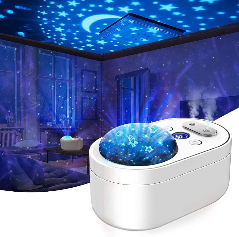 1000ml Cool Mist Humidifier and Night Light Projector
