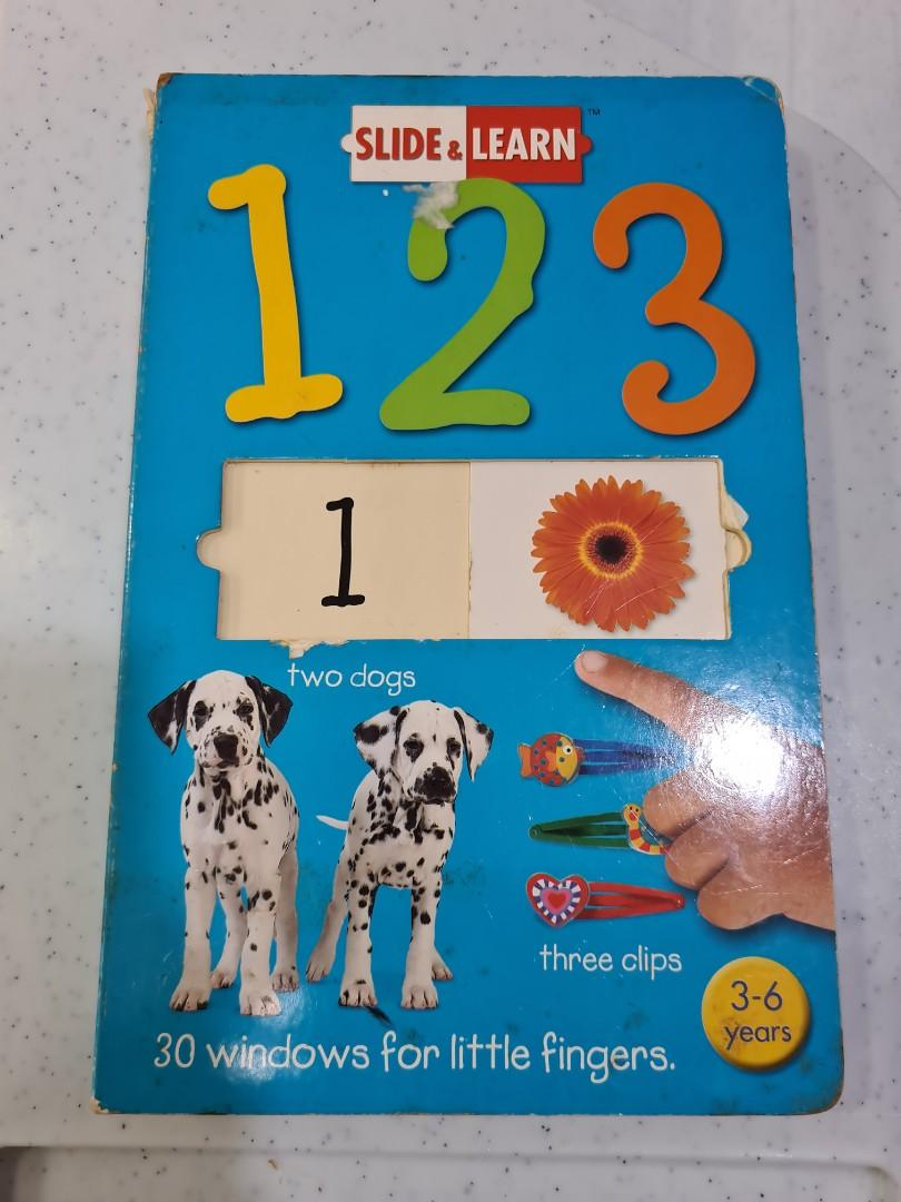 123 slide book
