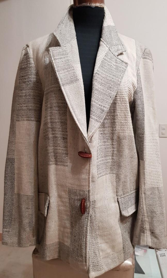 尺寸:XL$1899 🇮🇹義大利買的 毛料外套