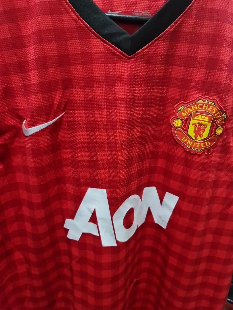 2013 Man Utd kit