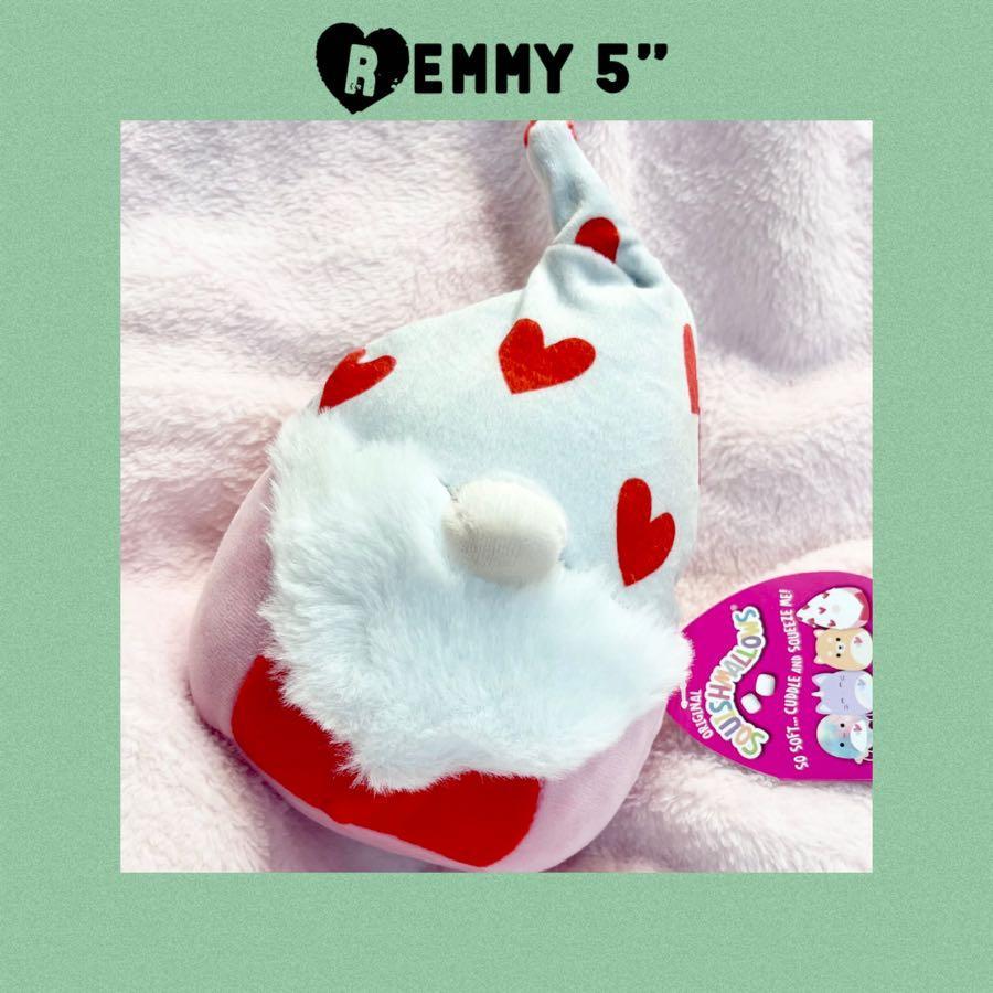 "Remmy Squishmallows Gnome 5"" Plush 2021 Valentine's Day"
