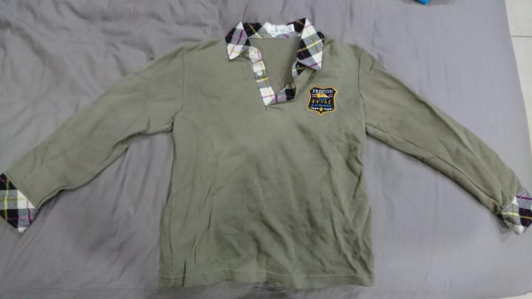 男童長袖上衣(5-7歲)