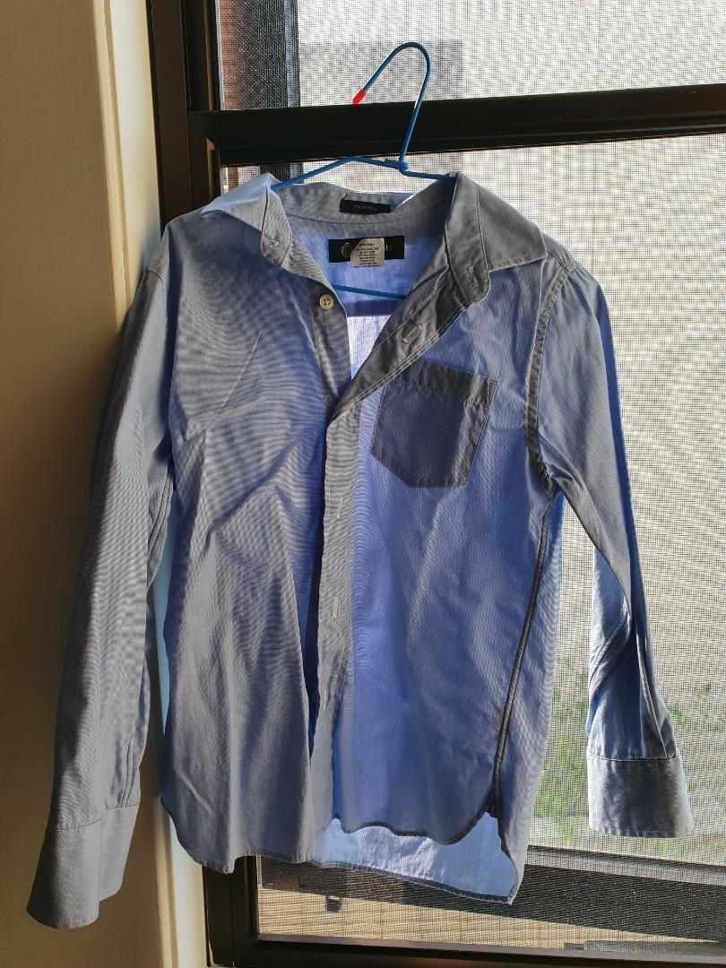 外套襯衫共三件