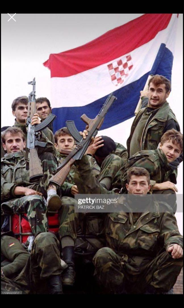 全新包裝 80's克羅埃西亞戰鬥上衣🇭🇷