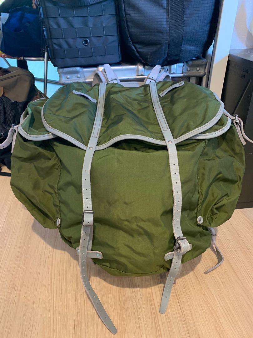 挪威軍 公發軍用後背包(庫存新品)美軍公發