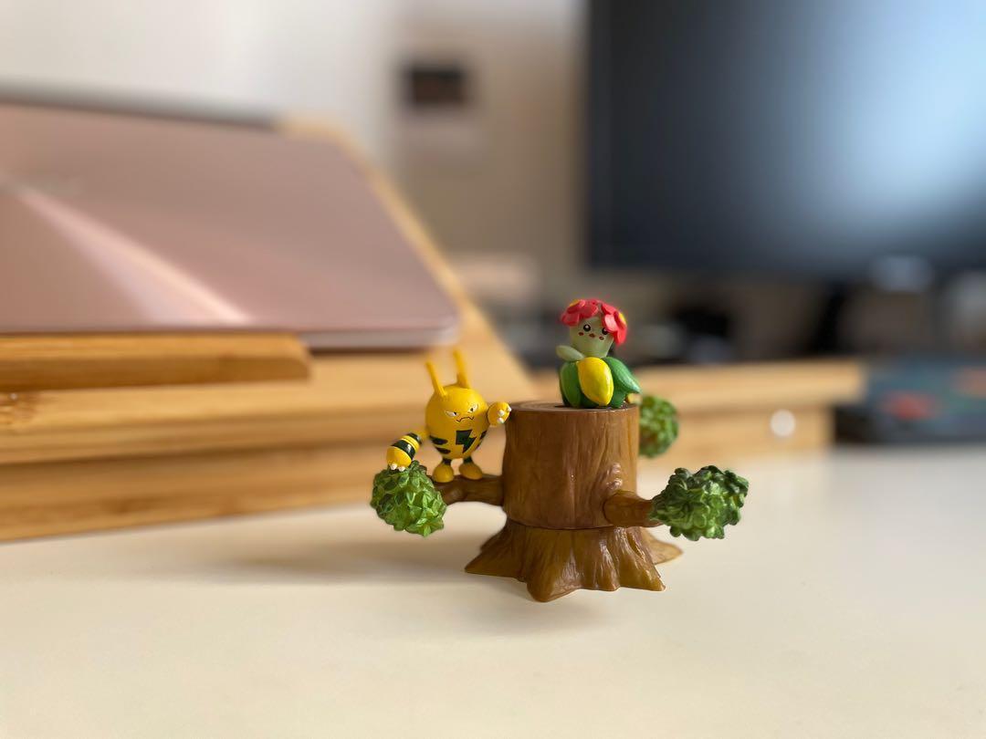 神奇寶貝 寶可夢 桌上擺飾 樹