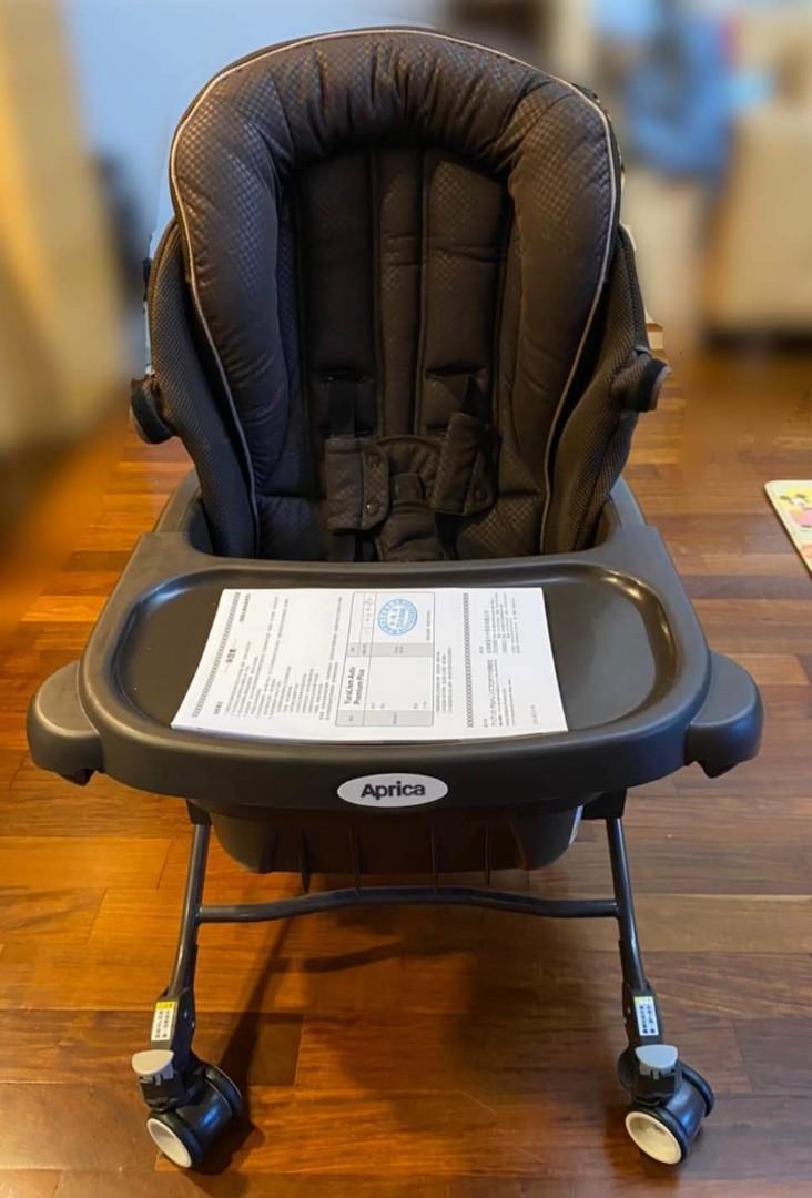 八成新 Aprica 電動 餐搖椅 YuraLism AUTO Premium