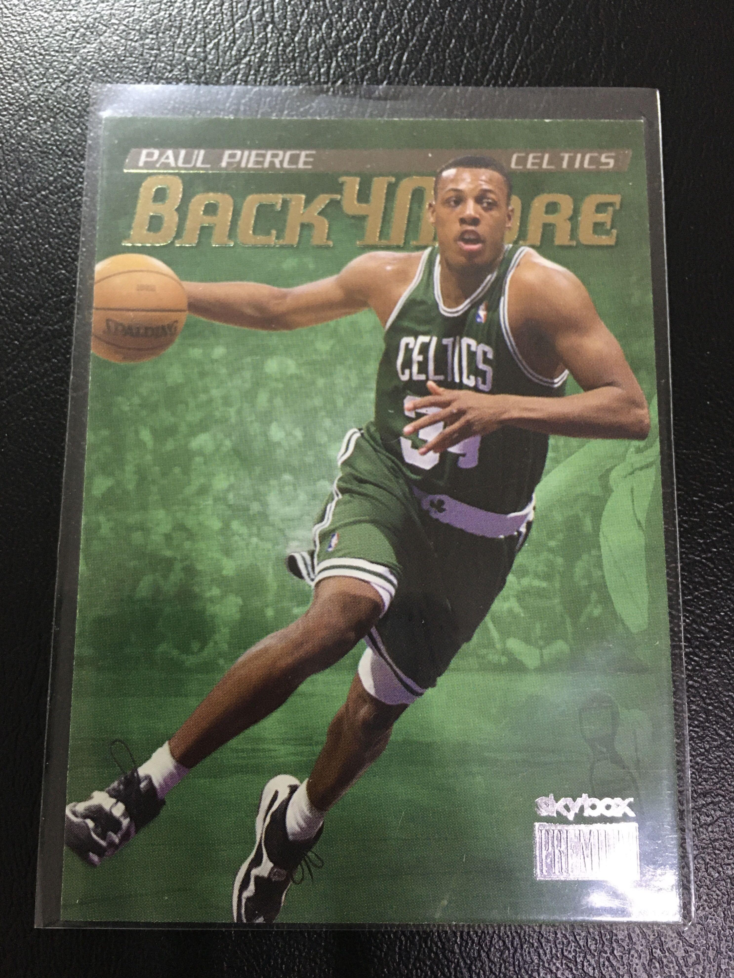 「 AT 」NBA球員卡/保羅·皮爾斯PAUL PIERCE 1999-00 SkyBox Premium Back for More NO.13