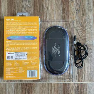 無線雙頭充電寶 wireless charger