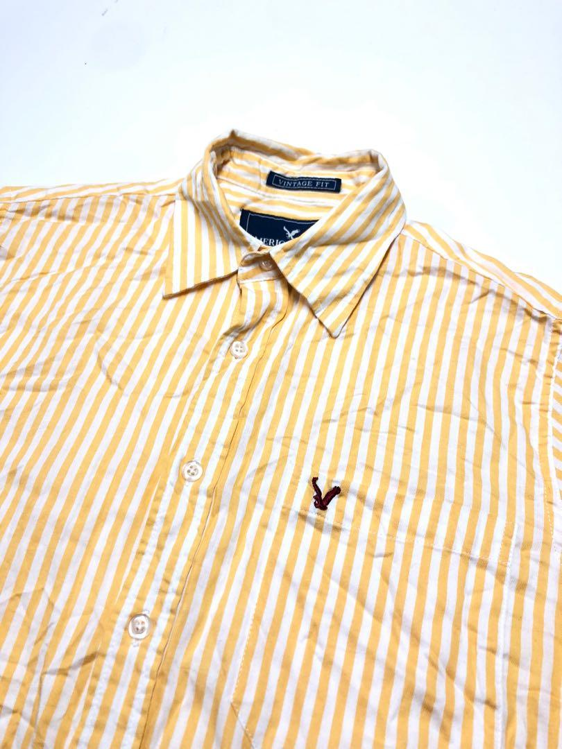 AE 條紋襯衫 vintage fit
