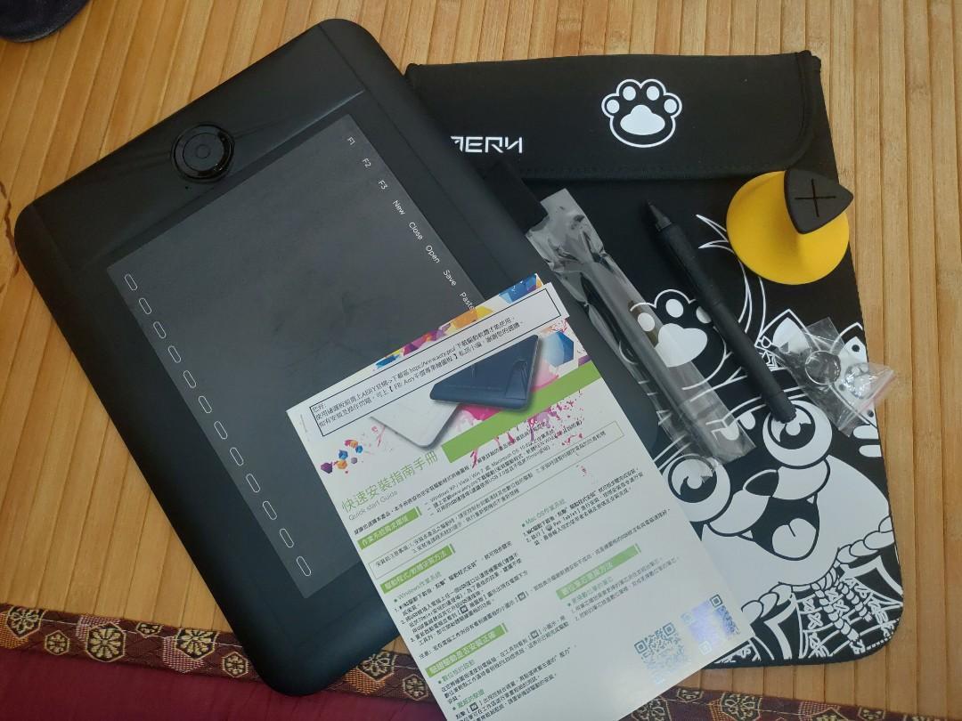 AERY  PF8616繪圖板 + 收納袋(二手九成新)