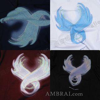 【AMBRAI.com】 REMIX CYBER TEE 幻影 短袖 短T 素T T恤 WING LOGO 15Y 煙燻 AES
