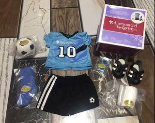 American Girl doll Soccer Outfit set