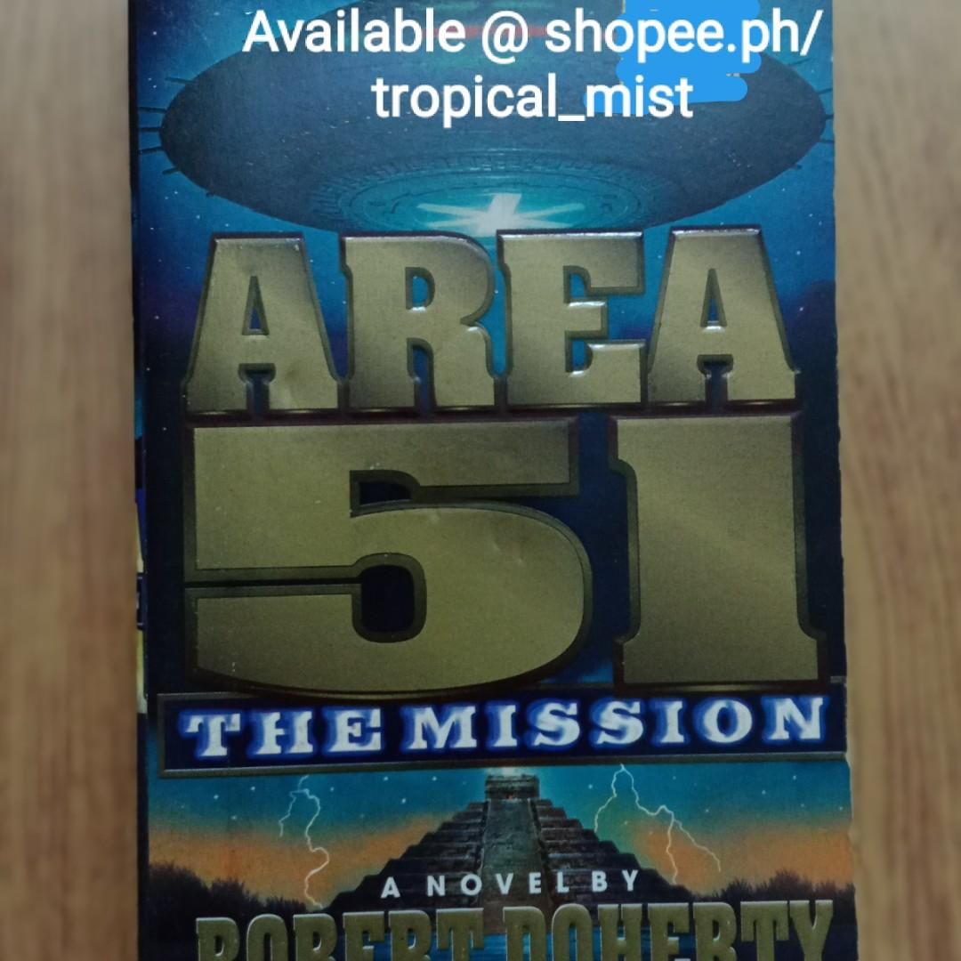 Area 51: The Mission MMPB by Robert Doherty