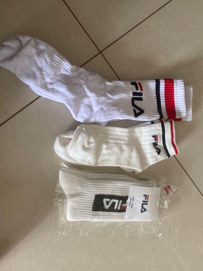 authentic fila socks
