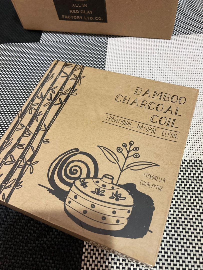 Bamboo Charcoil Coil