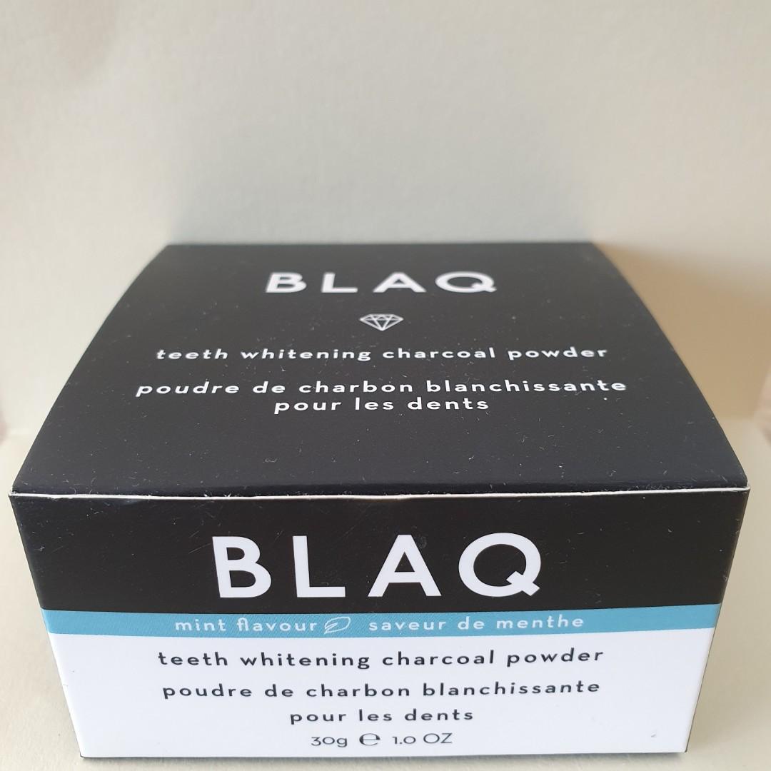 BLAQ Teeth Whitening Charcoal Powder 30g