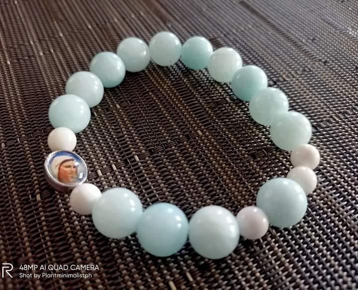 Blessed Mother Mary Rosary Bracelet