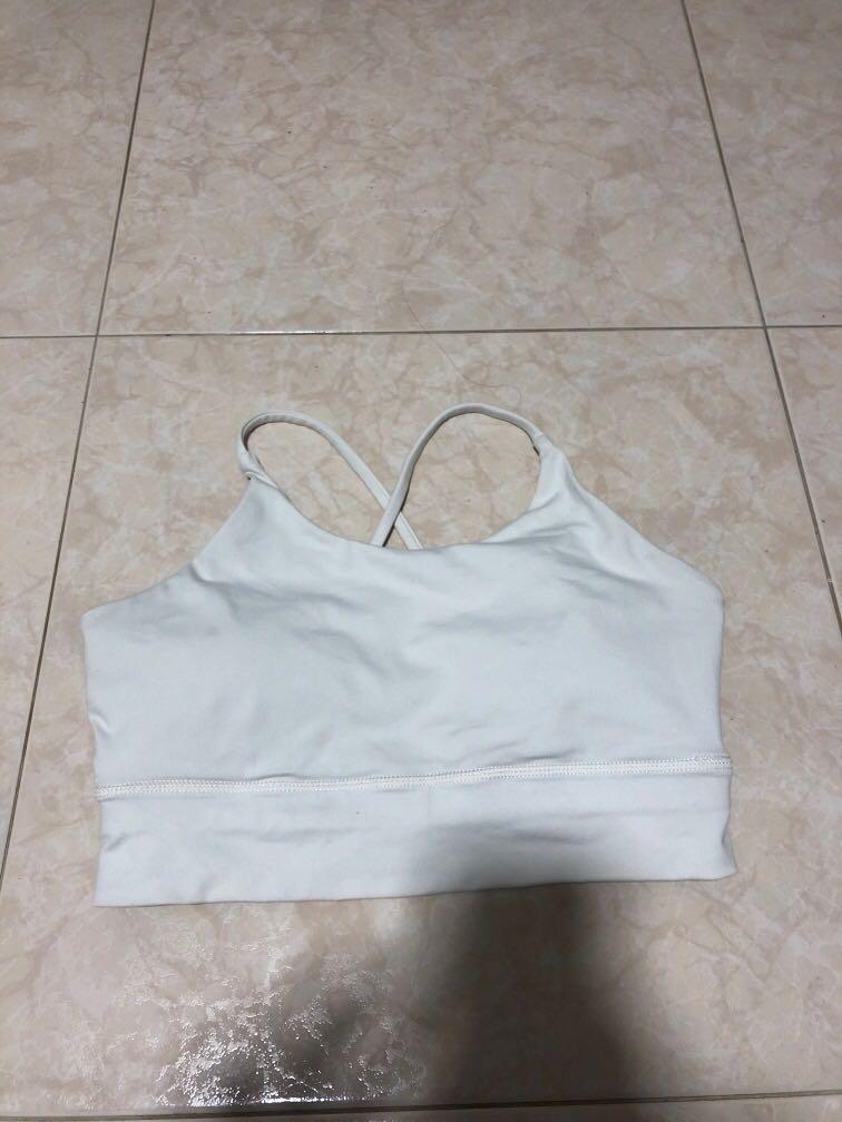 BN White Sports/Yoga Bra