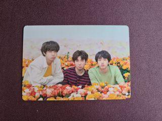 BTS Love Yourself World Tour Photocard RM Jin V Taehyung