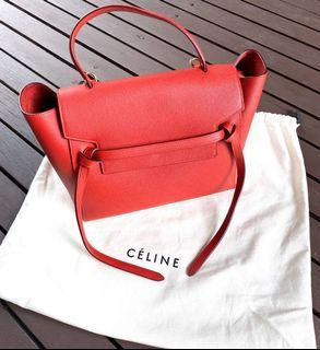 Celine Mini Belt Handbag ( 💯 % Authentic)