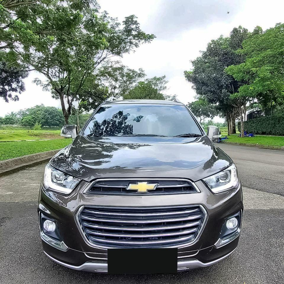 Chevrolet Captiva 2.0L FL2 LTZ A/T 2017